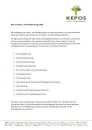 Was ist Lebens- und Sozialberatung (LSB)? - Kepos