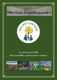 Tag des Gartens München 2018 - Web