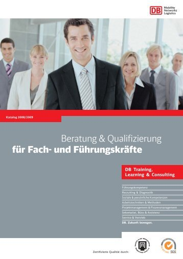 Beratung & Qualifizierung für Fach- und Führungskräfte - DB Training