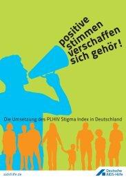 Dokumentation Positive Stimmen-PDF - Deutsche AIDS-Hilfe