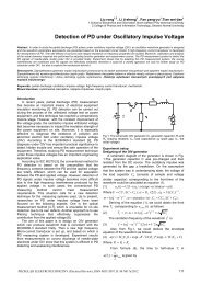 Detection of PD under Oscillatory Impulse Voltage - Przegląd ...