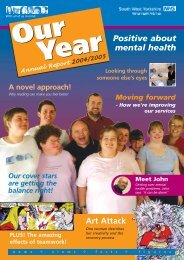 Art Attack Positive about mental health - South West Yorkshire ...