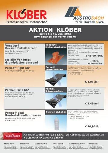 AKTION KLÖBER - Austrodach