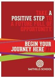 a positive attitude wi - Smithills School