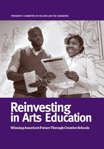 Reinvesting in Arts Education - President's Committee on the Arts ...