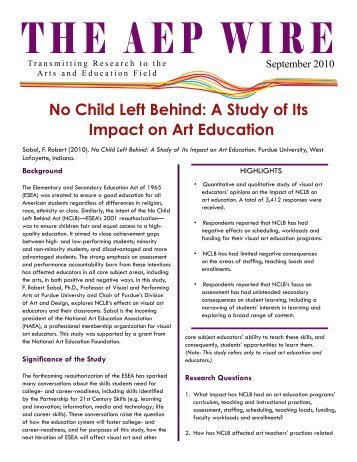 the significance of the no child left behind act in my life What is no child left behind the no child left behind act (2001) (nclb) began from a focus on improved quality of early literacy a cquisition it was launched as a.