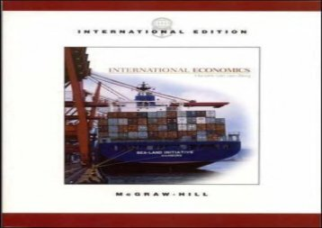 [+]The best book of the month International Economics  [READ]
