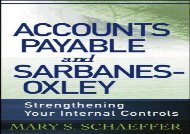 [+]The best book of the month Accounts Payable and Sarbanes-Oxley: Strengthening Your Internal Controls  [READ]