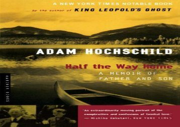 [+][PDF] TOP TREND Half the Way Home: A Memoir of Father and Son  [FREE]