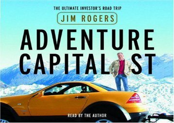 [+]The best book of the month Adventure Capitalist: The Ultimate Investor s Road Trip  [READ]