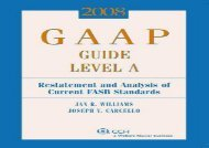 [+]The best book of the month GAAP Guide Level A: Restatement and Analysis of Current FASB Standards (GAAP Guide Level A: Restatement   Analysis of Current FASB Standards)  [NEWS]