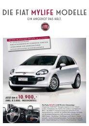 Die FIAT mylife Modelle - Autohaus Lehr
