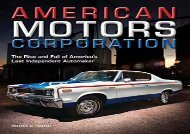 [+]The best book of the month American Motors Corporation: The Rise and Fall of America s Last Independent Automaker  [FREE]