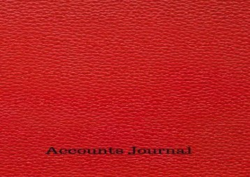 [+]The best book of the month Accounts Journal: Financial Accounting Journal Entries : General Notebook With Columns For Date, Description, Reference, Credit, And Debit. Paper Book Pad with 100 Record Pages 8.5 In By 11 In  [FREE]