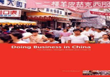 [+]The best book of the month Doing Business in China  [FULL]