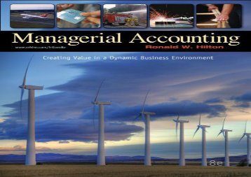 [+][PDF] TOP TREND Managerial Accounting: Creating Value in a Dynamic Business Environment [PDF]