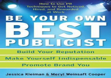 Pdf download getting past your past take control of your life with pdf top trend be your own best publicist how to fandeluxe Images