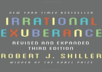 [+][PDF] TOP TREND Irrational Exuberance: Revised and Expanded Third Edition  [DOWNLOAD]
