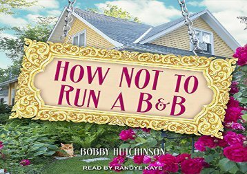 [+]The best book of the month How Not To Run A B B [PDF]