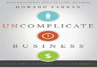 [+][PDF] TOP TREND Uncomplicate Business: All It Takes Is People, Time, and Money  [FREE]