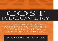[+]The best book of the month Cost Recovery: Turning Your Accounts Payable Department into a Profit Center  [FREE]