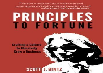 [+][PDF] TOP TREND Principles to Fortune: Crafting a Culture to Massively Grow a Business  [NEWS]