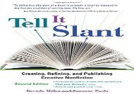 [+][PDF] TOP TREND Tell It Slant, 2nd Edition  [FREE]