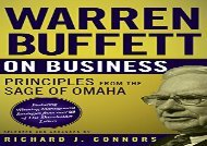 [+][PDF] TOP TREND Warren Buffett on Business: Principles from the Sage of Omaha  [NEWS]