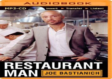 [+][PDF] TOP TREND Restaurant Man  [DOWNLOAD]