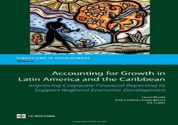 [+][PDF] TOP TREND Accounting for Growth in Latin America and the Caribbean: Improving Corporate Financial Reporting to Support Regional Economic Development (Directions in Development: Finance)  [NEWS]