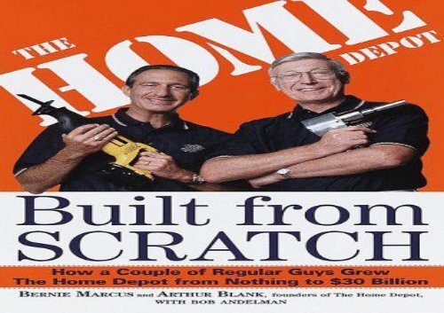 [+]The best book of the month Built from Scratch: The Home Depot  [FREE]