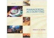 [+]The best book of the month Managerial Accounting: Creating Value In A Dynamic Business Environment  [FULL]