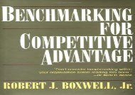 [+]The best book of the month Benchmarking for Competitive Advantage  [READ]