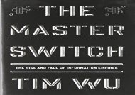 [+]The best book of the month The Master Switch: The Rise and Fall of Information Empires (Borzoi Books)  [NEWS]