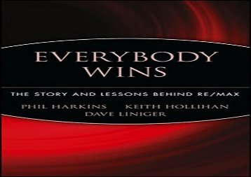 [+]The best book of the month Everybody Wins: The Story and Lessons Behind RE/MAX  [FULL]