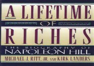 [+]The best book of the month A Lifetime of Riches: The Biography of Napoleon Hill  [FREE]