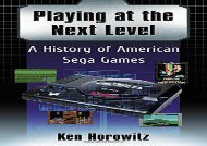 [+]The best book of the month Playing at the Next Level: A History of American Sega Games  [DOWNLOAD]