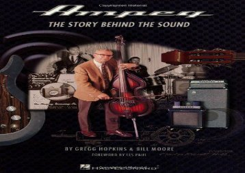 [+]The best book of the month Ampeg: The Story Behind the Sound  [FULL]
