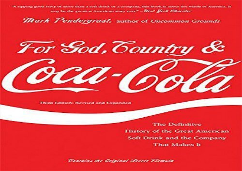 The Best Book Of The Month For God Country And Coca Cola The
