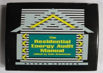 [+][PDF] TOP TREND The Residential Energy Audit Manual [PDF]