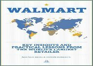 [+][PDF] TOP TREND Walmart: Key Insights and Practical Lessons from the World s Largest Retailer  [READ]