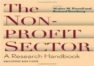 [+]The best book of the month The Nonprofit Sector: A Research Handbook  [FREE]