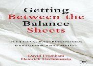 [+]The best book of the month Getting Between the Balance Sheets: The Four Things Every Entrepreneur Should Know About Finance [PDF]