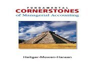 [+][PDF] TOP TREND Fundamental Cornerstones of Managerial Accounting  [NEWS]