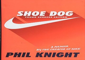 [+][PDF] TOP TREND Shoe Dog (Young Readers Edition)  [READ]
