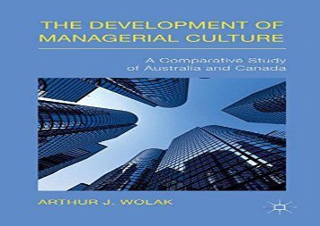 [+]The best book of the month The Development of Managerial Culture  [DOWNLOAD]