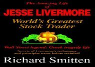 [+]The best book of the month The Amazing Life of Jesse Livermore: World s Greatest Trader  [FREE]