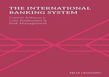 [+][PDF] TOP TREND The International Banking System: Capital Adequacy, Core Businesses and Risk Management  [FREE]