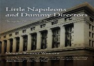 [+][PDF] TOP TREND Little Napoleons and Dummy Directors: Being the Narrative of the Bank of the United States  [FULL]