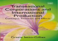 [+][PDF] TOP TREND Transnational Corporations and International Production: Concepts, Theories and Effects  [NEWS]